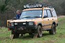 Camel Trophy Landrover Discovery winching