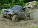 Coming through mud hole