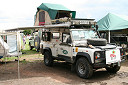 Defender 110 with roof tent